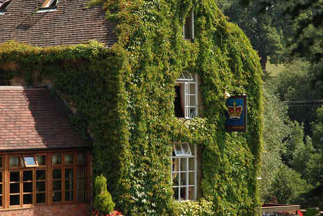 The Crown at Hopton - South Shropshire Countryside Inn Stay with Meal - Save 0%