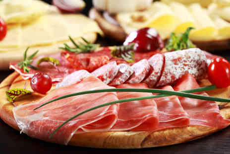 Hotel Xenia  - Charcuterie and Cheese Board with Prosecco and Coffee for Two - Save 39%