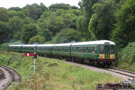 Dean Forest Railway - Hop On Hop Off Train Ticket for Two Adults   - Save 0%