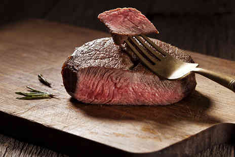 Plough and Harrow Hotel - Two Course Steak Dining for Two - Save 52%