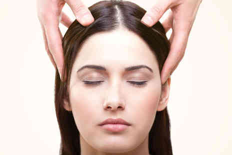 Kalmalife - Indian Head Massage with Back, Neck, and Shoulder Massage - Save 50%