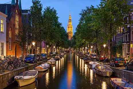 Seasonal Holidays - Two or Three night Four Star  Amsterdam break with return flights and canal cruise  - Save 62%