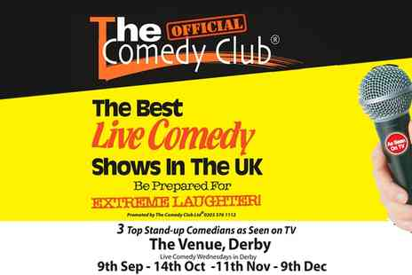 The Venue - Entry for Two to The Comedy Club  - Save 40%