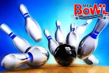 MFA Bowl -  Two Bowl Games For four - Save 69%