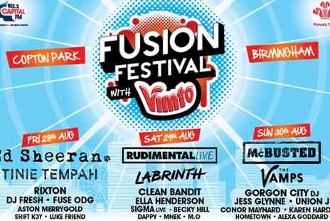 Fusion Festival - Tickets to Fusion Festival  - Save 0%