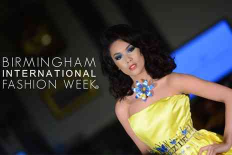 Birmingham International Fashion Week - Friday or Saturday General Admission Ticket, 4 or 5 September  - Save 31%