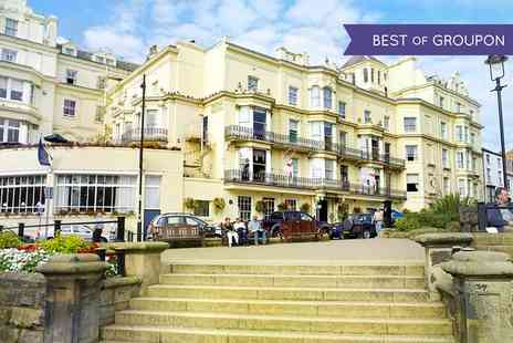 The Royal Hotel Scarborough - One or Two Nights stay For 2 With Dinner, Wine and Spindles Access - Save 0%