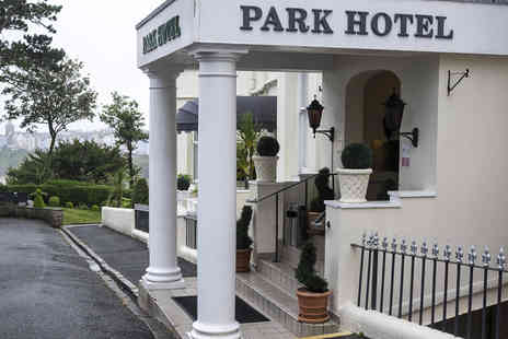 The Park Hotel - Overnight Stay with Breakfast Included and Direct Beach Access to Tenby's North Beach & Harbour  - Save 0%