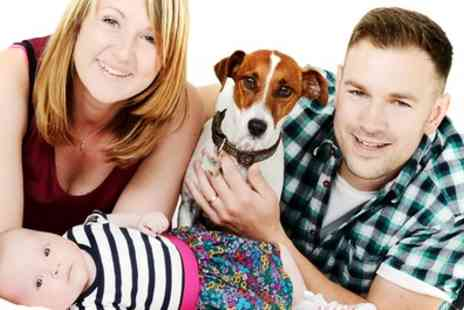 Hidden Gem photography Studio - Family Photoshoot with a Framed Photo and Six Prints  - Save 0%