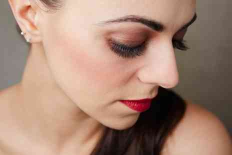 The Beauty Lounge - Semi Permanent Natural or Glam Lashes With a Brow Shape and Tint  - Save 0%
