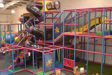 The Fun Run - Soft Play Party with Food and Drink for Ten Children  - Save 56%