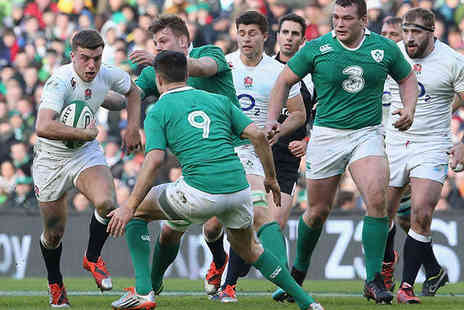 Twickenham Stadium - Last Chance England or Ireland Rugby Match  - Save 0%