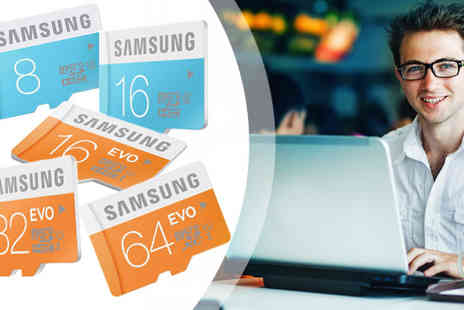 Orion - A Choice of Samsung Micro SD Cards - Save 59%