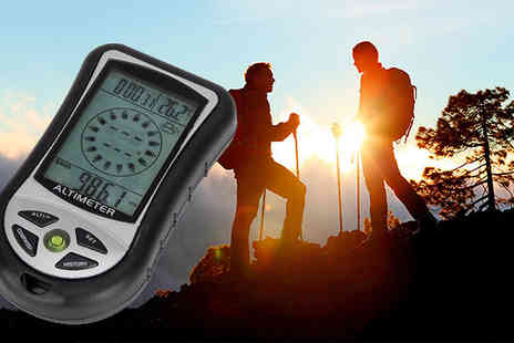 Eurosfield Online Store - 8 in 1 Digital Altimeter - Save 43%
