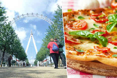 into the blue - London Eye, 3D Cinema and Pizza Express Meal for Two - Save 0%