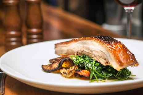 Rhubarb Restaurant - Two Courses & Prosecco for Two - Save 47%