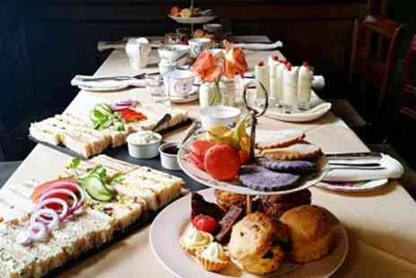 The Castle Hotel -  Afternoon Tea & Bubbly for 2 with Country Views - Save 37%