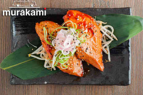 Murakami - £30 Pay £15 to Spend on Japanese Food and Drink for Two - Save 50%