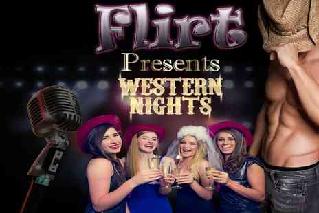 The Strip55 Group - Flirt Western Nights in Liverpool or Grease and Dirty Dancing - Save 48%