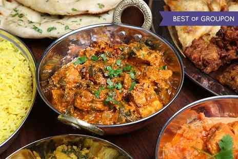 Dine India - Indian Banquet for Two - Save 0%