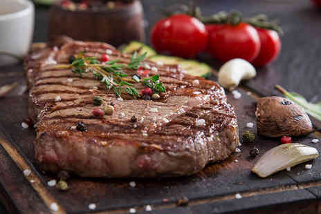 Ronnies Steakhouse - Two course steak dinner for two - Save 59%