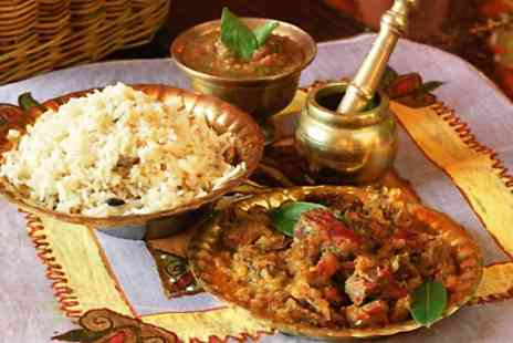 Bollywood Lounge - Two Course Indian Meal for Two  - Save 41%