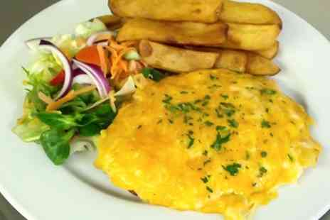 The Lord Byron Inn -  Parmo and Pint Meal For Two - Save 0%