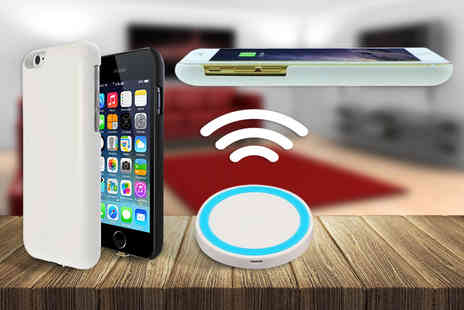 BritishGoody - Contactless smartphone charger and wireless receiver   - Save 67%