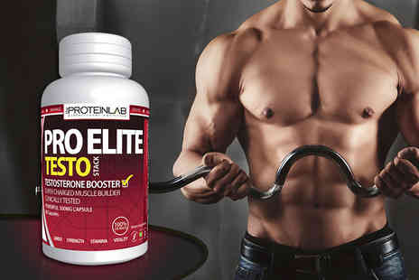 The Protein Lab - One month supply of Pro Elite Testosterone Boosting capsules  - Save 75%