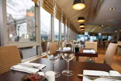 The Brasserie Restaurant - Steak Meal for Two with a Glass or Bottle of Sparkling Wine  - Save 46%