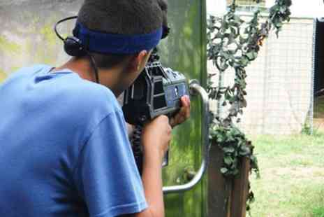 Battle Station Activities - Two Hours of Laser Tag, Airsoft, Archery or Nerf Battle for Two, Four or Ten  - Save 52%