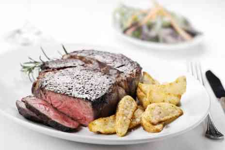 Fox & Hounds  -  10 oz Rib Eye or Sirloin Steak for Two or Four - Save 47%