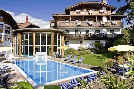 Hotel Bon Alpina - Three or Six Nights stay all inclusive in Tyrol with access to the hotels wellness centre - Save 30%