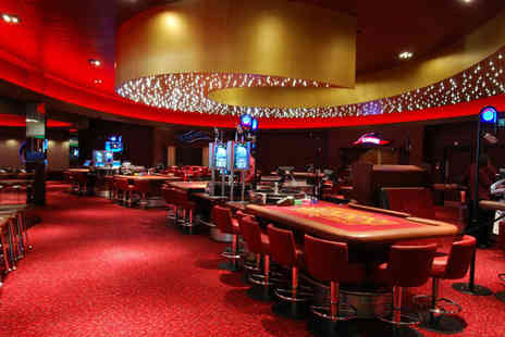 Grosvenor Casinos - Two course meal & glass of bubbly each, an enhanced bet, betting tuition and event entry  - Save 29%