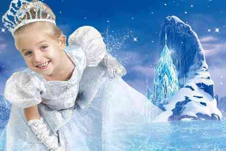 Wink Photography - Frozen inspired ice princess photoshoot for up to two kids including two prints  - Save 85%