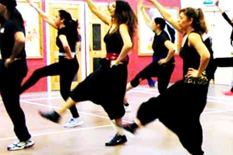 Bhangra Blaze - Five sessions of Bhangra Blaze Fitness Classes - Save 80%