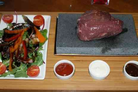 The Cottage - Hot Stone Steak Meal With Prosecco For Two  - Save 52%