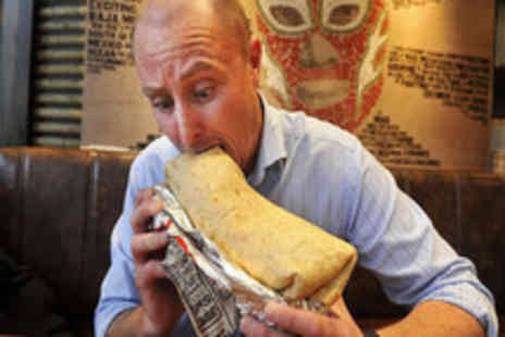 The Punchbowl - The Challenge Burrito - Save 40%