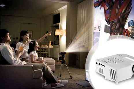 Eskkay   - Portable Mini H LED Projector - Save 81%