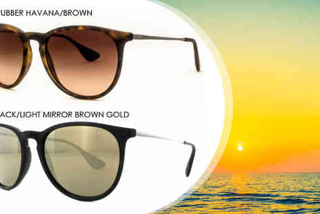 Fashion Eyewear  - Ray-Ban Erika Sunglasses with Choice of Colours - Save 40%