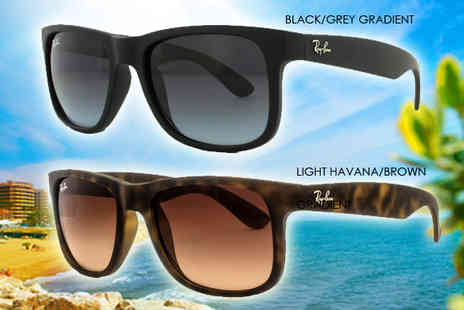 Fashion Eyewear - Choice of Ray Ban Justin Sunglasses - Save 35%