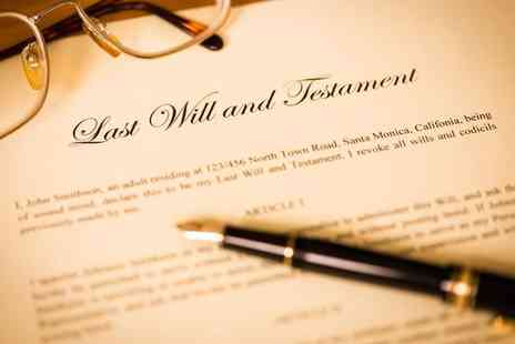Simple Wills - Single will writing service   - Save 51%