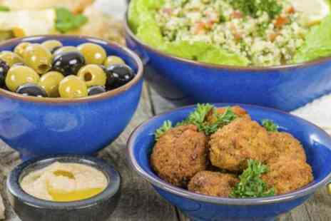 Alaturka - Meze Platter and Wine For Two (£14.95) or Four (£29) at Alaturka (Up to 55% Off) - Save 54%