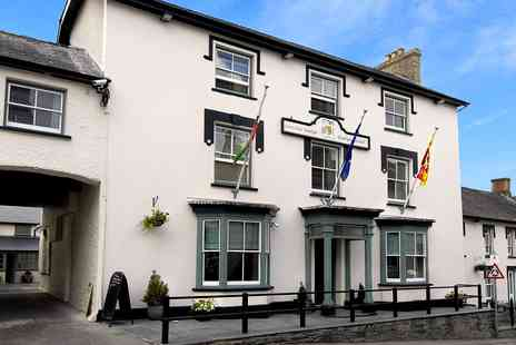 Gwestyr Emlyn Hotel -  Over night accommodation for two  in an Executive Double room with full Welsh breakfast  - Save 58%