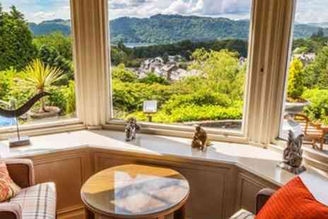 Hillthwaite House Hotel - Afternoon Tea and Bubbly for Two  - Save 37%