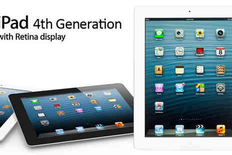 Connectronics  - iPad Fourth Gen 64GB with Wi Fi - Save 41%