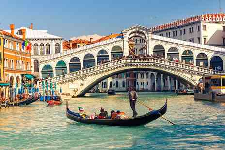 Rome Florence & Venice  - Discover Three beautiful Italian cities over Six Nights stay  With flights hotels trains  - Save 0%