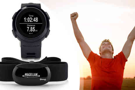 Allcam - Magellan Echo Fitness Watch with Heart Rate Monitor - Save 66%