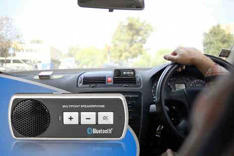 eGlobal Shoppers - Bluetooth car speaker kit - Save 78%