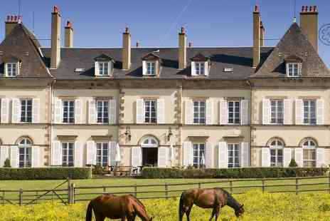 Chateau d Ygrande - Two or Three Night stay in a French castle with brekafast dinner hamman food box  - Save 42%